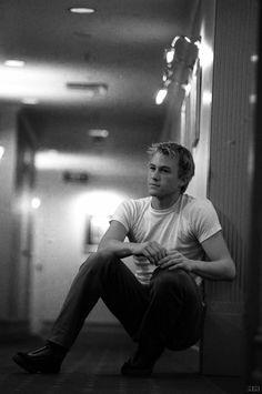 Heath Ledger- the joker Beautiful Men, Beautiful People, Cinema, Christopher Nolan, Denise Richards, E 10, Charlie Hunnam, Famous Faces, Man Crush