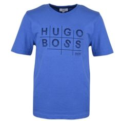 Hugo Boss boys T-Shirt. J25936 77P Sky Size 8-12-14-16 100% cotton S/S. Genuine. | Clothing, Shoes & Accessories, Kids' Clothing, Shoes & Accs, Boys' Clothing (Sizes 4 & Up) | eBay!