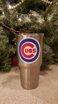 Chicago Cubs Yeti decal by CustomizablebyLauren on Etsy