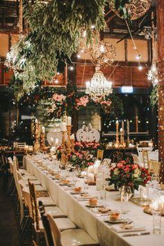 Sydney Wedding Botanical Garden Theme