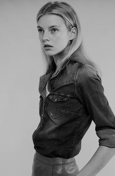 Model: Beauise Ferdwerdax   Photographer: Carlo Piro