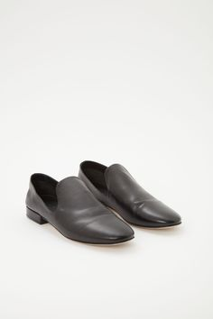 2d557d53cef170 Leather loafers in Black Leather Loafers