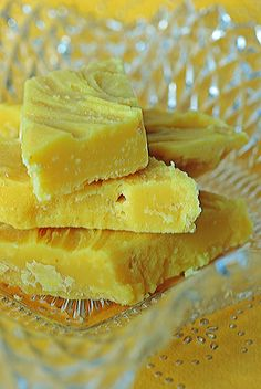 Lemon Fudge  from The Well Seasoned Cook-Globetrotting in the Galley Kitchen;  Inspired By Charm.com