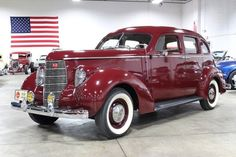 1938 Studebaker Commander Sedan. Maintenance/restoration of old/vintage vehicles: the material for new cogs/casters/gears/pads could be cast polyamide which I (Cast polyamide) can produce. My contact: tatjana.alic@windowslive.com