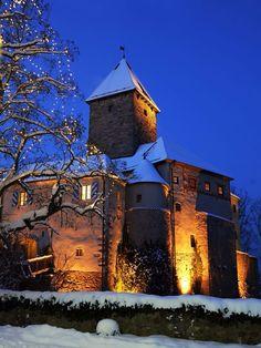 #Wernberg Castle in the Oberpfälzer Wald, Bavaria