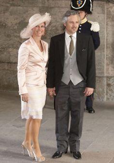 Princess Märtha Louise of Norway and Ari Behn.