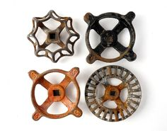 Instant COLLECTION of GARDEN Water Faucet Knobs  by sushipotparts
