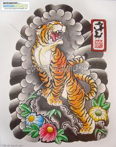 Asian+Tiger+Tattoo+Designs | ... tiger-tattoo-image-tattooing-designs-design--tattoo-design-900x1144