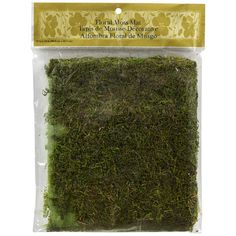 "<div><div>Create the perfect ambiance with this 16"" x 18"" moss mat. Use it for your every day cr..."