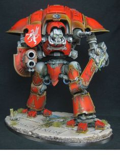 Imperial Knight, Painted by Matthew Beavis