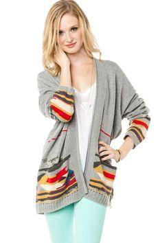 ShopSosie Style : Wilderness Cardigan