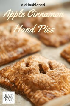 Small Batch Old Fashioned Apple Cinnamon Hand Pies American Apple Pie, Apple Hand Pies, Apple Filling, Flaky Pastry, Apple Cinnamon, Base Foods, Recipe Of The Day, Pie Dish, Easy Dinner Recipes