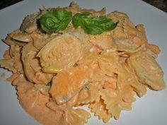 Chef JD's Classic Cuisine: Farfalle Valentino with Salmon and Artichoke