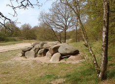 Dolmen/Hunebed Steenbergen, the Netherlands Cairns, Northern Canada, Stone Sculpture, Netherlands, Culture, Scenery, History, World, Places