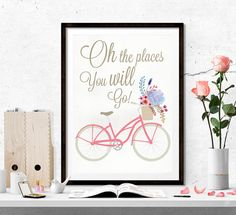 $5 Oh the places you will go printable art travel by SoulPrintables