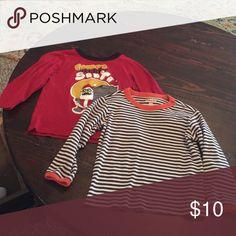 2 long sleeved shirts Baby gap and children's place GAP Shirts & Tops Tees - Long Sleeve