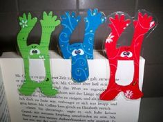The craft elf, the craft portal with ideas and a craft forum. Useful Origami, Origami Easy, Sticky Note Crafts, Art For Kids, Crafts For Kids, Bookmarks Kids, Handmade Bookmarks, Origami Bookmark, Origami Animals