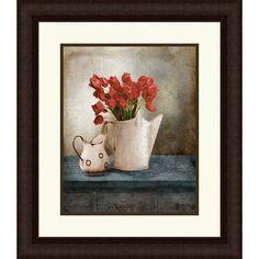 "Found it at Wayfair - ""Still Life"" Framed Painting Print http://www.wayfair.com/daily-sales/p/The-Hanging-Garden%3A-Floral-Wall-Art-%22Still-Life%22-Framed-Painting-Print~QTM1834~E15598.html?refid=SBP.rBAZEVRDVmC5lwX11cGNApgrpCkwB0hQrLyQwX6csG4"