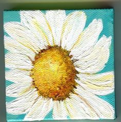 Hey, I found this really awesome Etsy listing at http://www.etsy.com/listing/159580405/shasta-daisy-painting-close-up-on