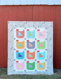 Fabric Chicken Roundup - Sugar Bee Crafts
