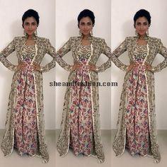 Amala Paul in Anamika Khanna for Vijay awards