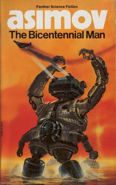 This is a collection of 11 science fiction short stories and a poem by Isaac Asimov. The Bicentennial Man features as one of the stories and was later expand. Science Fiction Books, Pulp Fiction, Fantasy Books, Sci Fi Fantasy, Bicentennial Man, 70s Sci Fi Art, Classic Sci Fi, Isaac Asimov, Sci Fi Books