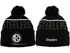 2017 Winter NFL Fashion Beanie Sports Fans Knit hat Pittsburgh Steelers  Hats 82f68ad37
