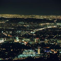 Night time view of North Hollywood, by Schulman