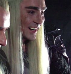 Lee Pace, you are hilarious! Balrog Of Morgoth, Lee Pace Thranduil, Rr Tolkien, Legolas And Thranduil, Bagginshield, O Hobbit, Boku No Hero Academy, Middle Earth, Lord Of The Rings