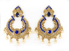 Selling wholesale earrings in dozen packs. Request for wholesale earrings in bulk from india for jewelry wholesale. We selling chand bali earrings at our Indian imitation jewellery online store. Buy hyderabadi chand bali earrings in polki, chand bali earrings gold. Please view our chand bali chandelier earrings designs online at http://www.sd-fashions.com