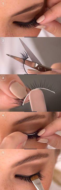 ¿Cómo ponerse pestañas postizas fácilmente? #VoranaTips #Ojos #Pestañas #Tutorial