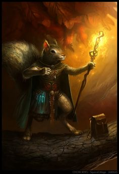 Will Scarlet the Red Squirrel | Critter Kingdoms ...