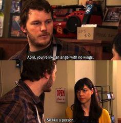 Andy and April <3 #ParksandRec