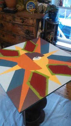 Color Blocking my Barn Quilt
