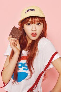 OH MY GIRL 3rd Mini Album 'Pink Ocean' 2nd Concept Teasers - JinE, Mimi, Yooa, Arin - Album on Imgur