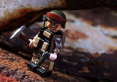 Lego underground control unit.