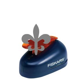 Fiskars - Lever Punch - Medium - One Inch Fleur de Lis at Scrapbook.com $9.02