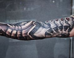 Tattoo Biomechanical Arm