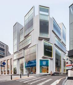 MVRDV transforms office building in Seoul