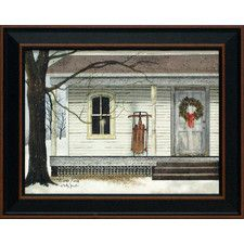 Winter Porch by Billy Jacobs Framed Painting Print