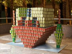 Amazing Canned Food Sculptures