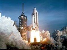 First Space Shuttle Launch on April 12, 1981 Premium Poster at AllPosters.com