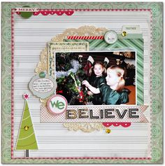 Emma's Paperie: December Color Challenge by Jill Cornell
