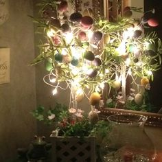 Some light up Easter decor