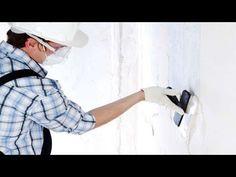 Como tapar burracos na parede com auxílio da massa corrida - YouTube