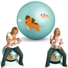 how to use a birthing ball during late pregnancy
