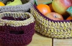 making some crochet baskets. More on Angry Pixie's blog www.angrypixie.co