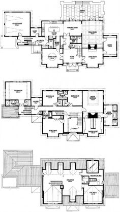 View our numerous modular home floor plans and elevations, like this Solta - Custom. Dream House Exterior, Dream House Plans, House Floor Plans, Custom Modular Homes, Modular Home Floor Plans, Floor Plans 2 Story, Floor Plan Drawing, House Blueprints, House Layouts