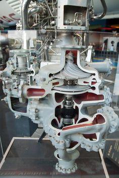 rocket engine turbopump by Pratt & Whitney Rocketdyne. Used in American space program. Rocket Engine, Jet Engine, Aerospace Engineering, Mechanical Engineering, Apollo Space Program, American Space, Rocket Design, Space Rocket, Space Shuttle