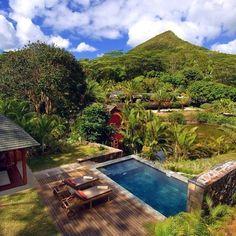 Mauritius holiday rental la case Chamarel